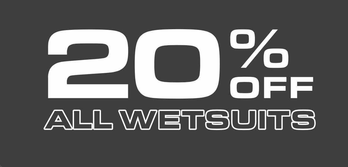 20% Off Wetsuits Black Friday